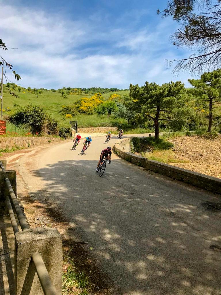 attività di mountain bike